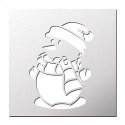 Pochoir Pere Noel.Pochoir Traineau Du Père Noël Stencils Pochoir Noel