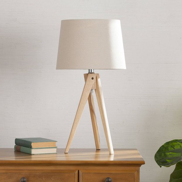 Minimalist Walmart Finds That Only Look Expensive Tripod Table Lamp Table Lamp Wood Table Lamp