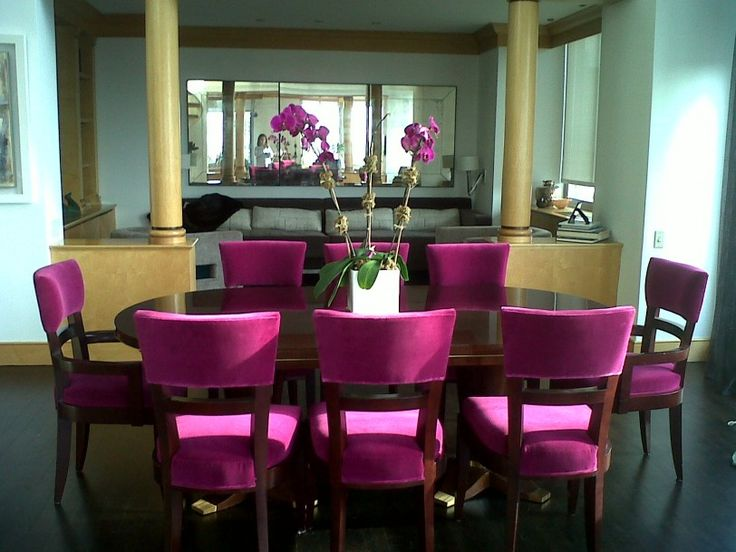 Pink Dining Room Ideas With Modern Design Pink Dining Chair Home Design Pictures Modern Dining Room