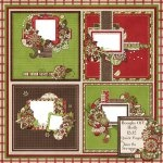 Boughs Of Holly Quick Pages 12x12