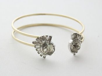 Vintage jewels turned into to a brand new bracelet by Lusting for Lavish