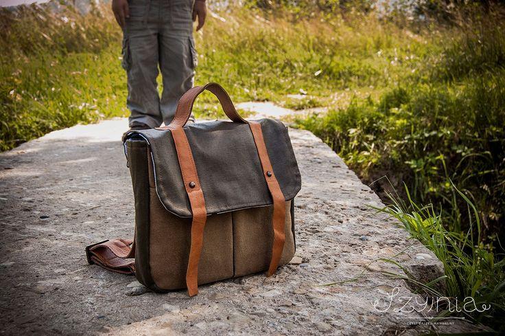 oldschool backpack handmade