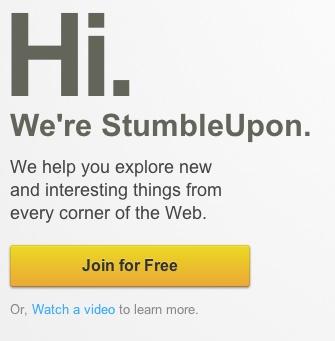 Stumbleupon: Mobile App, App Ui Ux