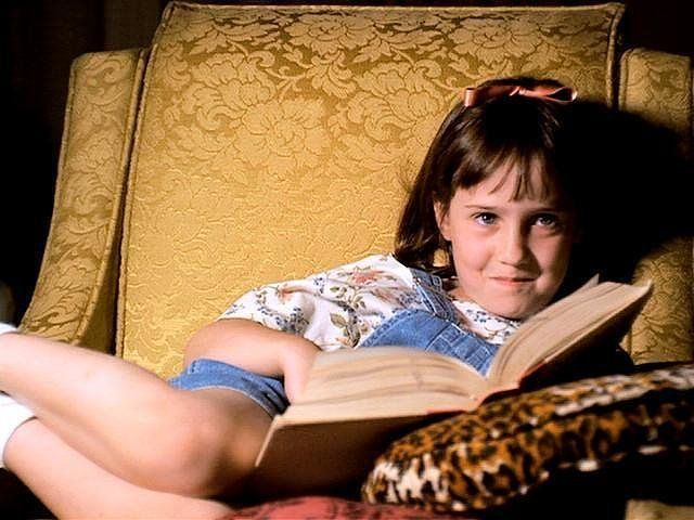 Matilda's childhood was pretty rough, and she dealt with it by escaping to fantasy worlds that were more pleasant than the one she knew. There are several versions of this literature-lover you can be — pulling a red wagon full of books for instance. Bonus: you get to wear overalls.