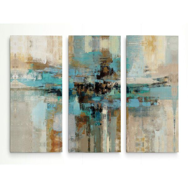 Morning Fjord Acrylic Painting Print Multi Piece Image On Gallery Wrapped Canvas In 2020 Canvas Wall Art Set Canvas Art Gallery Wrap Canvas