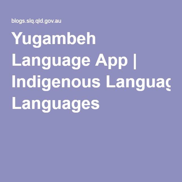 Yugambeh Language App | Indigenous Languages