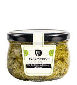 Ready to Eat | Dip de Alcachofa y Espinaca y Quinua | Casa Verde