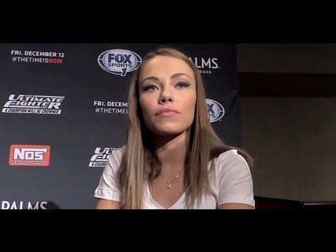"Rose Namajunas Looking to Finish, ""I'm Dangerous Everywhere"" (TUF 20 Finale) - YouTube"