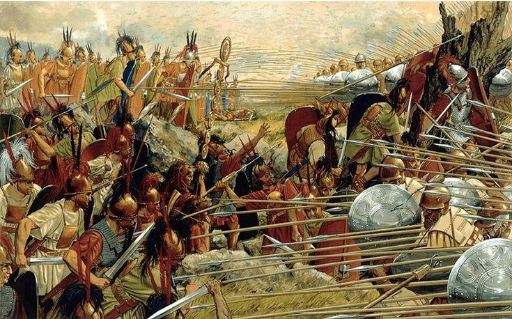 Batalla de Pidna: Falange contra legión. Autor Peter Connolly