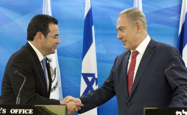 Guatemala To Move Embassy To Jerusalem Says President Jimmy Morales