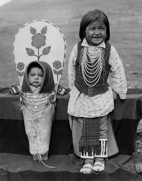 Nez Perce children – 1903