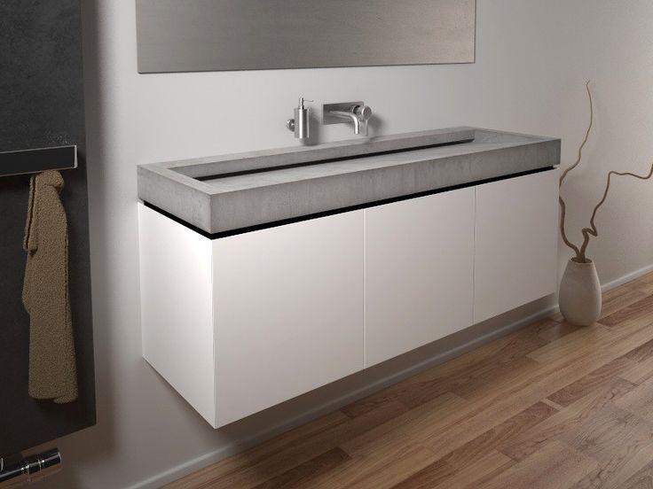 die besten 10 betonwaschtisch ideen auf pinterest. Black Bedroom Furniture Sets. Home Design Ideas