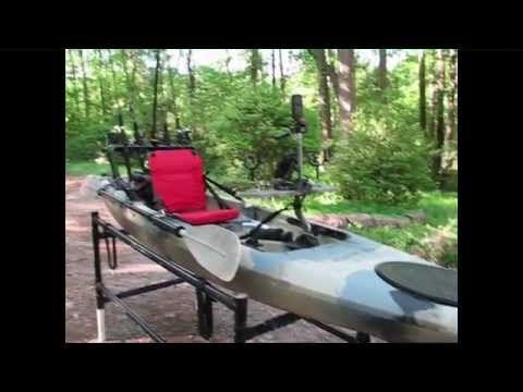Field and stream eagle talon 12 2nd seat modification for Field and stream fishing kayak