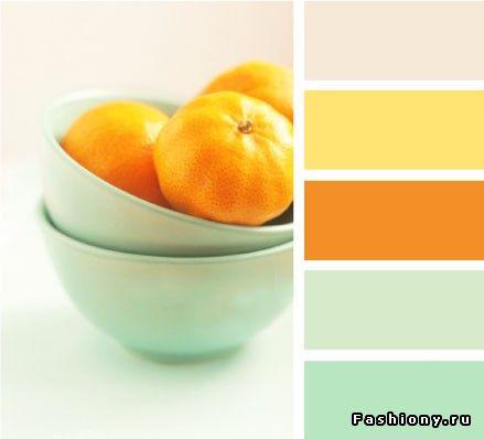 Лето цвета мяты: с чем сочетать? / какие цвета сочетаются с мятным цветом