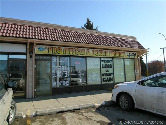 Investment opportunity! Commercial retail condo unit for sale on busy Gaetz Ave. in downtown Red Deer. Quality Tenant in place. Condo documents and financial information available.
