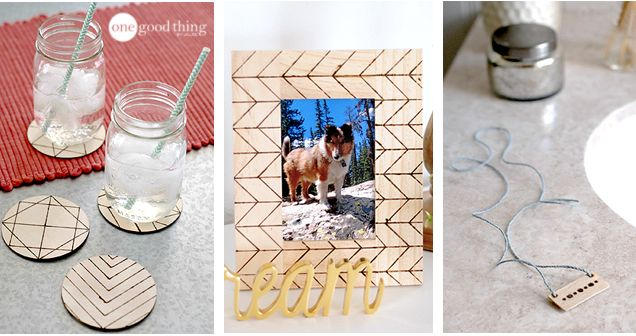 Use A Wood Burning Tool To Make Charming Rustic Crafts | One Good Thing By Jillee | Bloglovin'