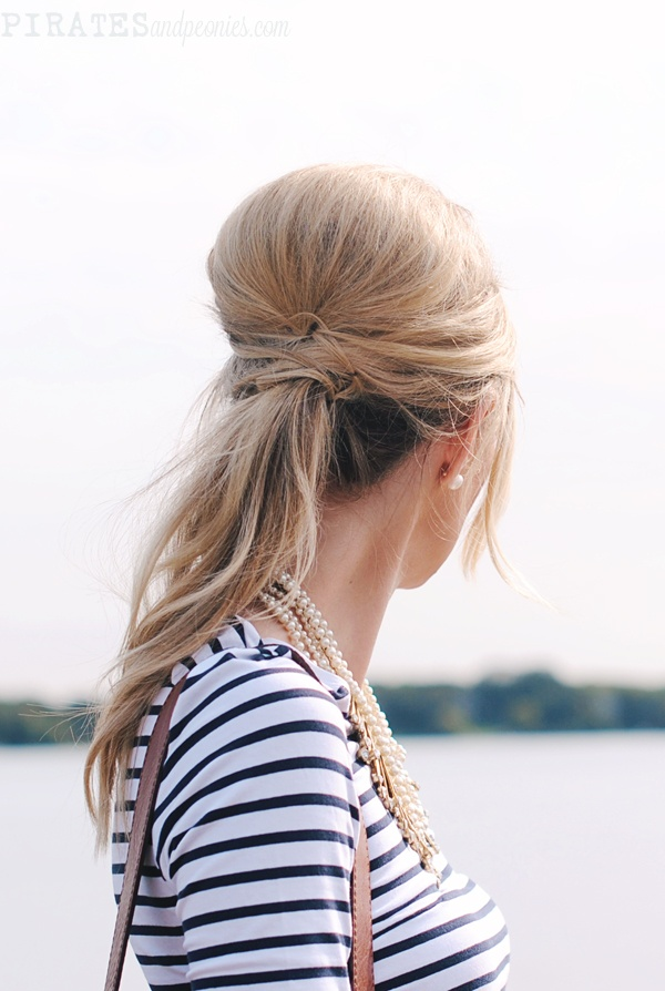 a little extra volume for a dressy pony // via pirates and peonies