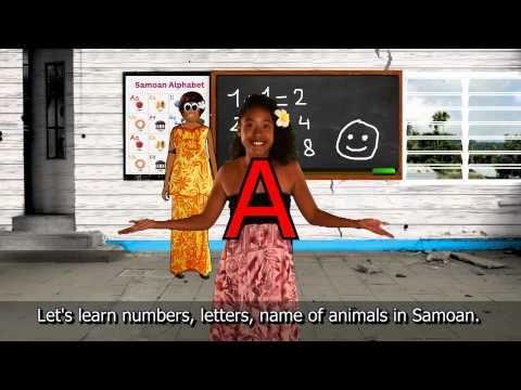 a study on the samoan language Learning to speak samoan.