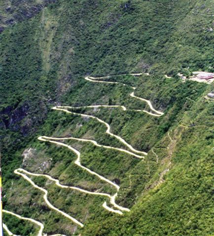 Ancient Inca road systems