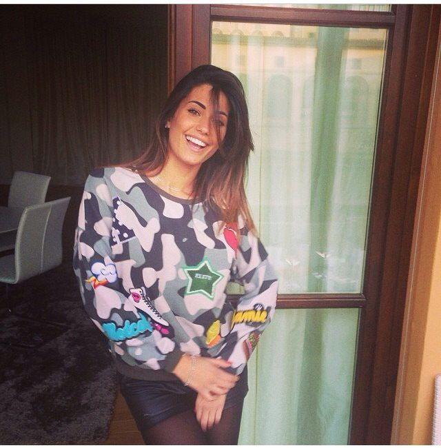#federicanargi indossa la felpa FOLLOWUS  #love #followus #followusfashion #woman #collection #ss14 #fashion #style