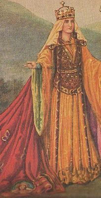 Henry I's daughter: Matilda. Married at age 23 to 13 year old Geoffrey V Plantagenet and son of Fulk, King of Jerusalem, and their son was King Henry II