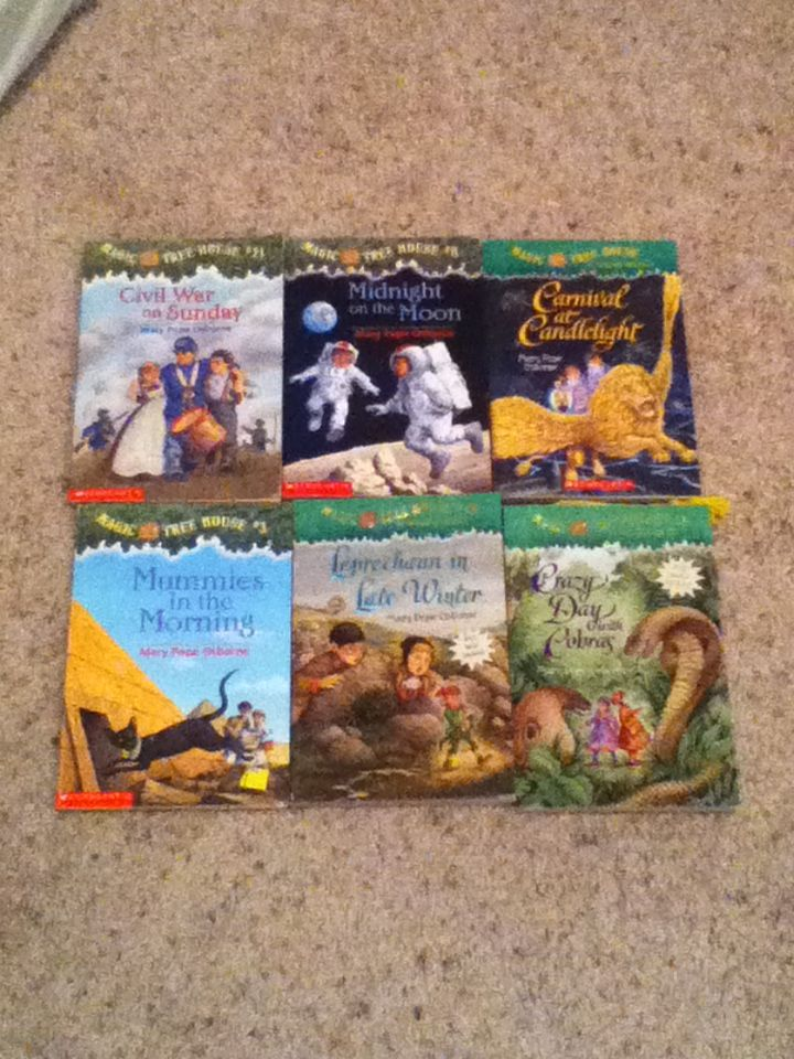 17 Best Images About Magic Tree House Books On Pinterest