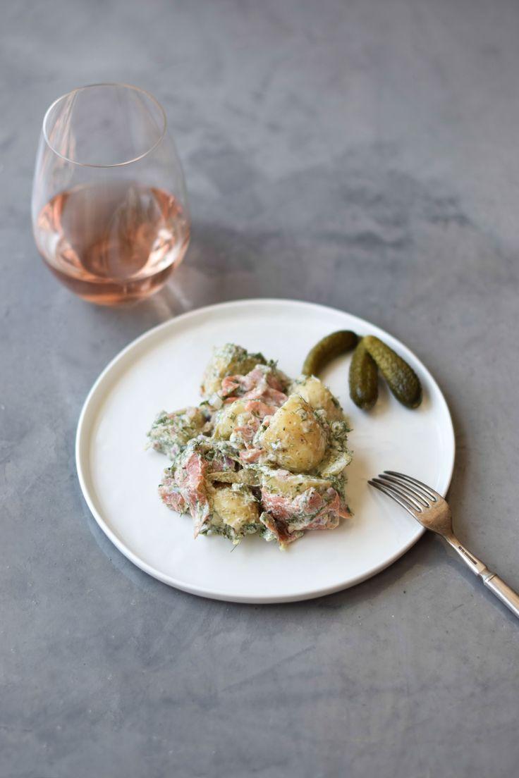 Salmon Potato Salad