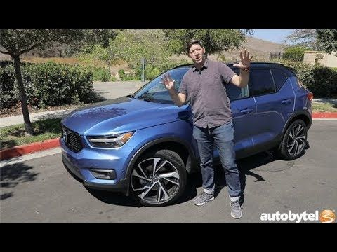 2019 Volvo Xc40 R Design Awd Test Drive Video Review Youtube