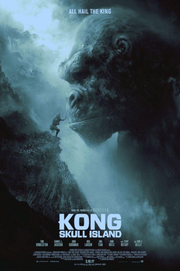 Kong, Skull Island: All Hail the King, by Karl Fitzgerald #karlfitzgerald #kongprint