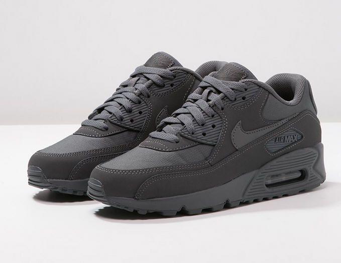 Nike Sportswear AIR MAX 90 ESSENTIAL Baskets basses dark grey ...