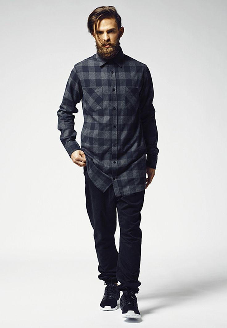 Urban Classics I Long Checked Flanell Shirt I TB1000 I 34,90€