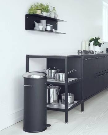 スタイリッシュなデザインは、さすがデザインの国・北欧で使われているものです。