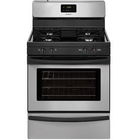 Frigidaire Freestanding 4.2 Convection Gas Range (Silver Mist) (Common: 30 -In; Actual: 29.875-In) Ffgf3016tm