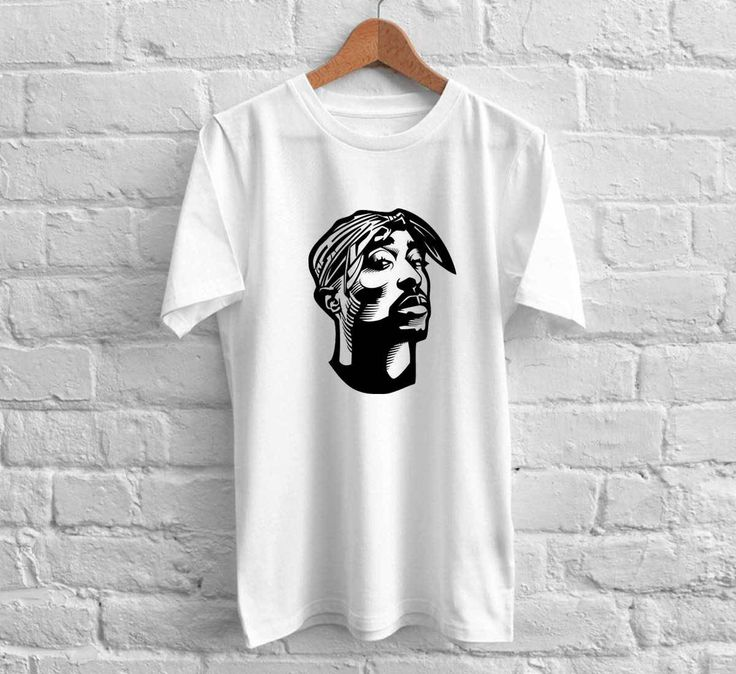Rapper Tupac 2 pac Shirt 5SOS Tshirt Custom Gift Cotton 2pac Biggie Shirt Unisex