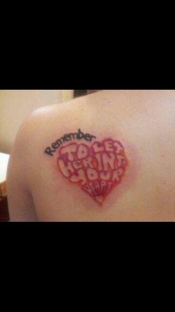 Hey Jude beatles lyrics tattoo
