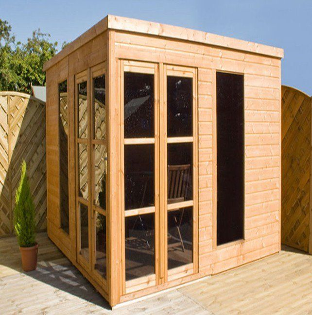 25 best ideas about abri jardin toit plat on pinterest for Cabanon en bois de jardin