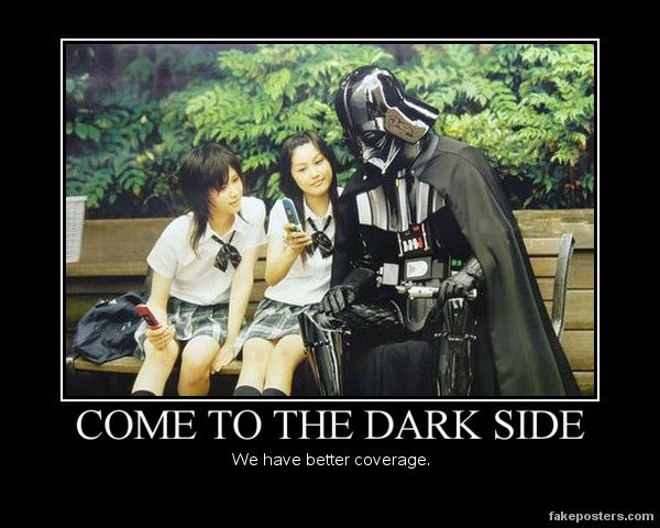 Come To The Dark Side   motivation   Pinterest   The o ...