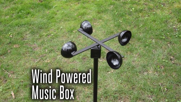 Work together to build a wind powered music box. A great opportunity to combine Science,  Engineering, Math, and Music. If you are in to DIY projects, this looks like a lot of fun for the family!