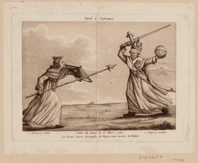 relationship between danton and robespierre