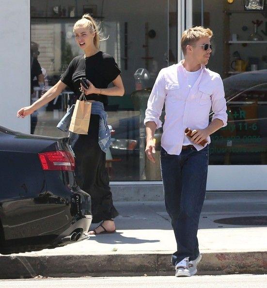 Derek Hough - Derek Hough Shops with His Girlfriend in Hollywood