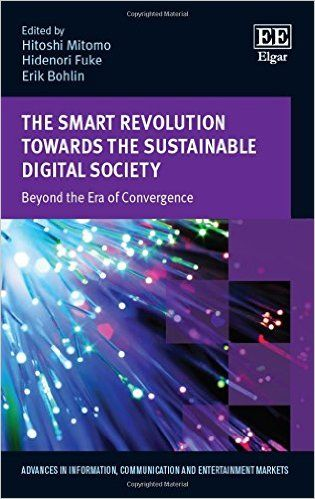 The Smart Revolution Towards the Sustainable Digital Society: Beyond the Era of Convergence  (EBOOK) http://www.elgaronline.com/view/9781784710033.xml The objective of this book is to present a comprehensive evaluation of the smart revolution, including its social and economic impacts. It proposes a modern framework to help assess how recent Information and Communication Technologies (ICTs) can contribute to societies as a whole.