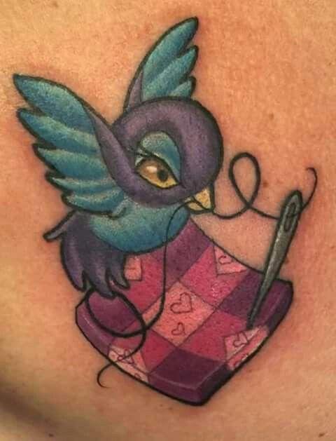 Quilting tattoo