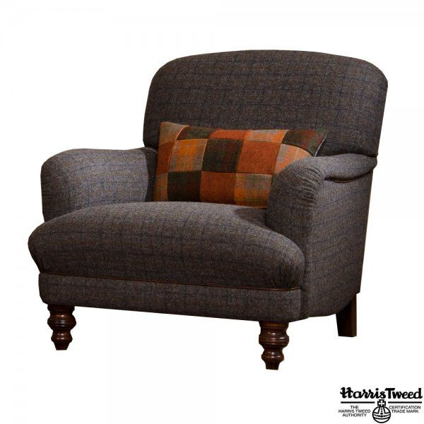 Tetrad Braemar Harris Tweed Armchair - Available to Buy Online