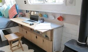 Image result for Canal-Narrow Boat Interior Design