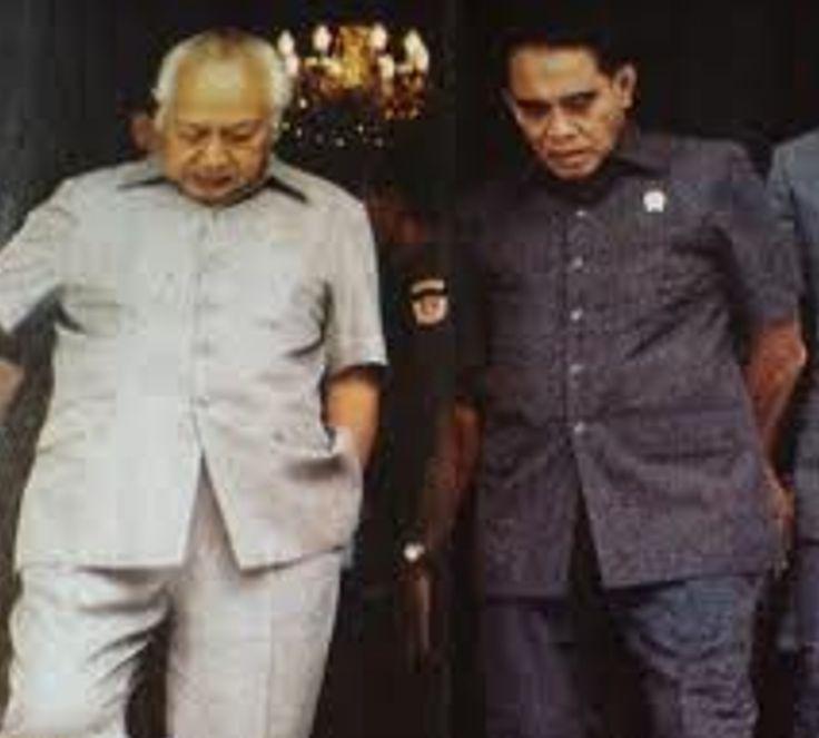 Jenderal LB Moerdani - Jenderal Soeharto