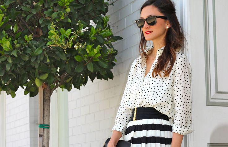 polka dot love...and stripes too!