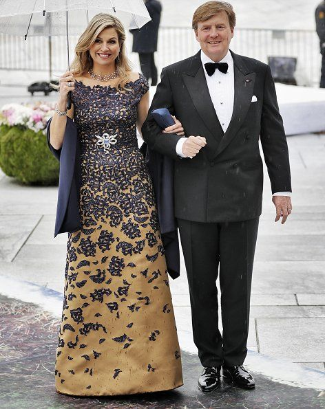 Newmyroyals:  80th Birthday Celebrations, Day 2, Opera House Dinner, May 10, 2017-Queen Maxima and King Willem-Alexander