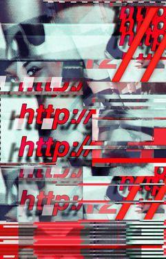 """Saatchi Online Artist Wayne Bryan; Assemblage / Collage, """"Glitch Decon 1"""" #art"""
