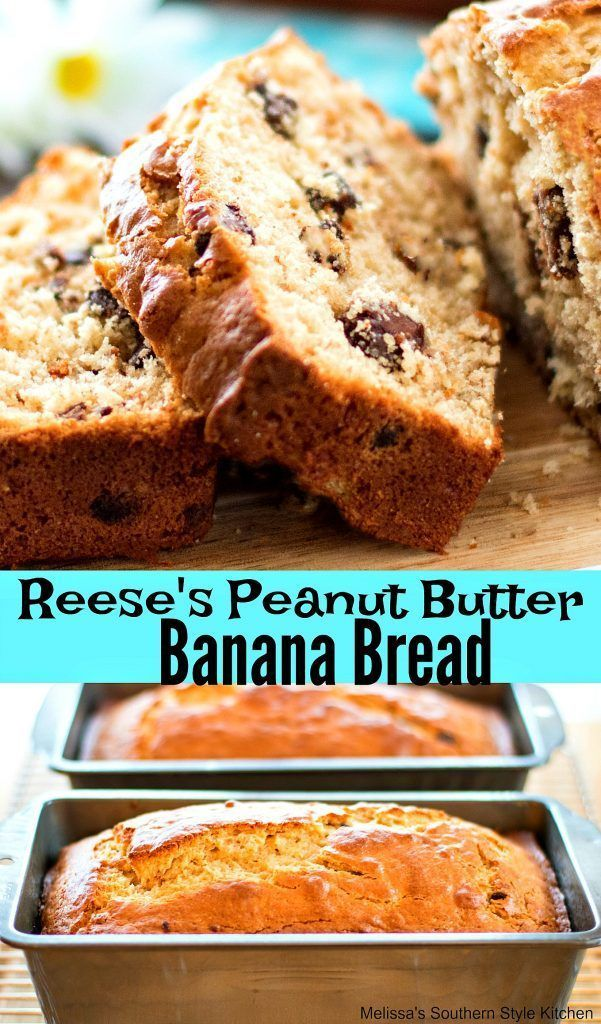 This Reese's Peanut Butter Banana Bread is a bonefide sweet bread treat that peanut butter and chocolate fans will love. A rich thick peanut butter batter is laced with mashed bananas for flavor and chopped Reese's cups to gild the lily. Serve it warm straight out of the oven, room temperature or chilled, either way...Read More »