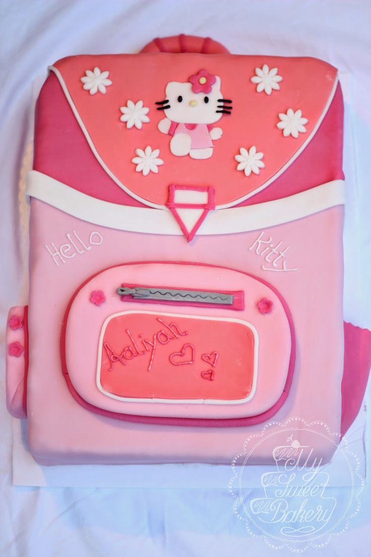 My Sweet Bakery: Hello Kitty Einschulungstorte